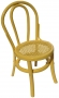 Yellow Baby Bentwood Chair